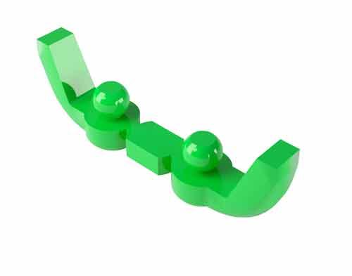 OT CAP Barra Calcinabile Normo verde 151BAN